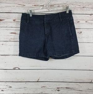 Banana Republic Dark Wash Jean Shorts